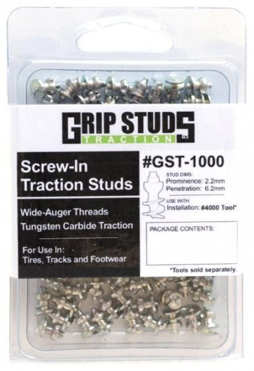 Bike Tire Ice and Snow Studs 150 Pack