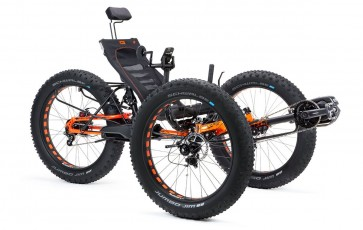 Full Fat Recumbent Electric Trike