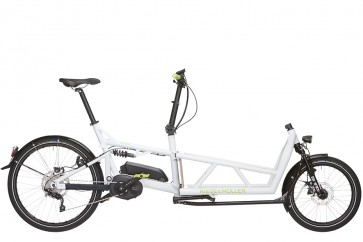 R&M Load Full Suspension Cargo eBike Touring White