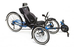 Adventure Recumbent Electric Trike