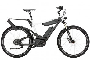 R&M Delite Full Suspension eBike Nuvinci White