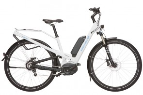 R&M Homage Full Suspension Touring eBike White
