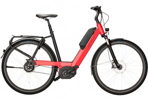 Riese & Mueller Nevo Step Through eBike Nuvinci Red